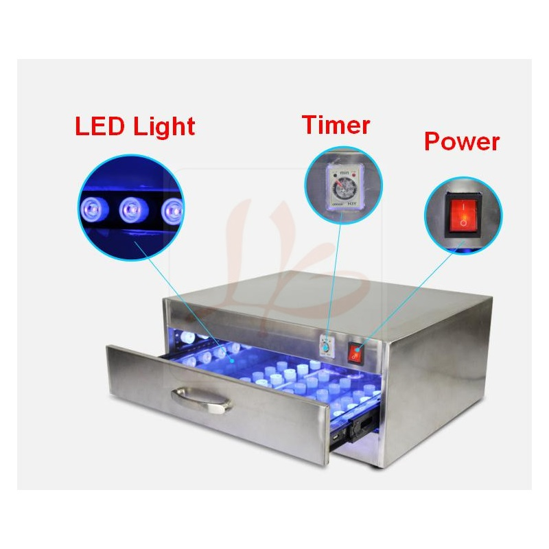 118W UV Curing oven UV Curing Box UV Glue Dryer Lamp with 84 LED lights, no tax to Russia 110v 220v top grade uv curing lights shadowless glue curing lights uv glue curing lights led for phone scree uv glue dry