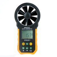 Professional Anemometer High Quality LCD Digital Wind Speed Meter Air Flow Tester Backlight