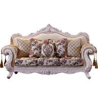 Роскошная мебель ткань диван гостиная мебель набор Группа Покупка оптовая цена украшения дома