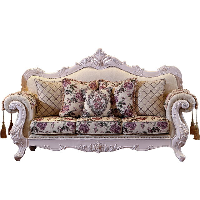 Luxury Furniture Fabric Sofa Living Room Furniture Set
