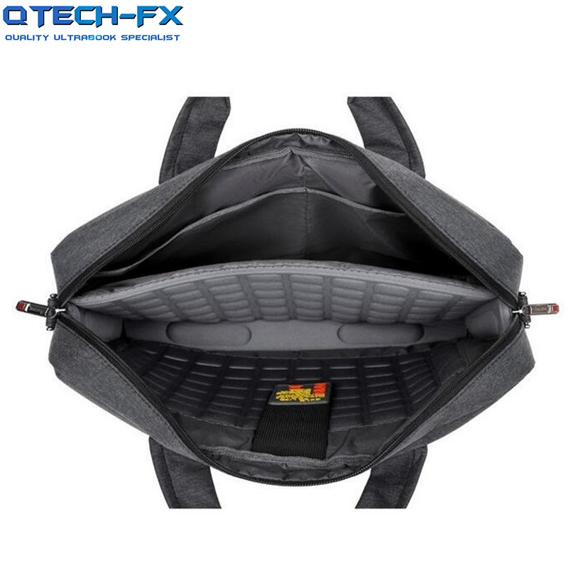 """17inch Laptop Bags Shoulder Cotton Fabric  Notebook for 15.6/17"""" HP Apple QTECH FX Lenovo Dell Computer-in Laptop Bags & Cases from Computer & Office    1"""