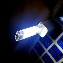 Мини USB СВЕТОДИОДНЫЙ ночной Светильник Кемпинг лампы Двусторонняя красный/зеленый/синий 12 светодиодов USB чтение светильник