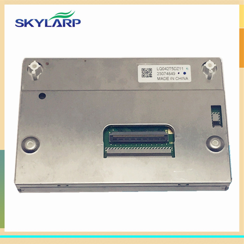 skylarpu 4.2 inch LCD display panel for LQ042T5DZ11 23074849 (without touch) skylarpu 3 5 inch for wintek wd f4880v5 wd f4880v5 6flwe lcd display panel without touch