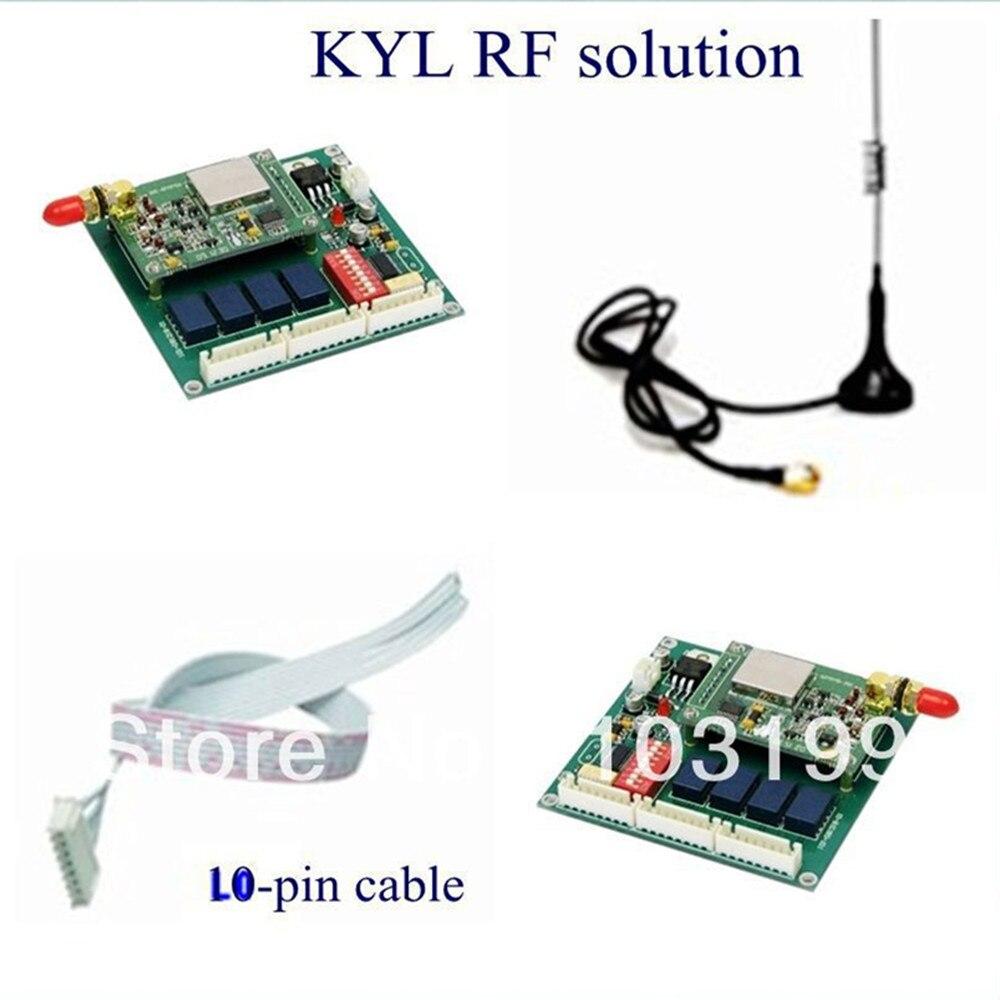 4 Weg Kyl 812 Wireless I O Modul Mit Daten Radio Modem 300i 2 Km Circuit Fernbedienung Fr Drahtlose Wasser Level Control System In
