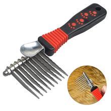 Расческа для домашних собак, щетка для грумера, щетка для собак и кошек, профессиональная расческа для домашних животных, щетка для удаления волос, инструмент для удаления волос