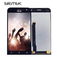 Srjtek 100 Tested For Asus ZenFone 2 ZE500CL Z00D LCD Display Touch Screen Digitizer Sensor Glass