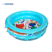 цена на 61*15CM cute plastic Inflatable pool Round inflation baby small swimming pool PVC inflatable tub Swim Center Inflatable Pool