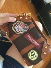 Hot Shoulder bag Harri Hogwarts PU School Badge potter Wallet Package Collectibles Handbags Christmas Gifts Props harri potter quidditch golden snitch limited supply