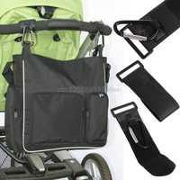 Cochecito de bebé de moda gancho cochecito mosquetón para cochecito percha bolsa de pañales # HC6U # triangulación de envío
