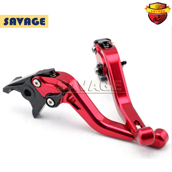 ФОТО For HONDA CBR 900 CBR900 CBR600 F2/F3/F4/F4I Red Motorcycle CNC Billet Aluminum Short Brake Clutch Levers