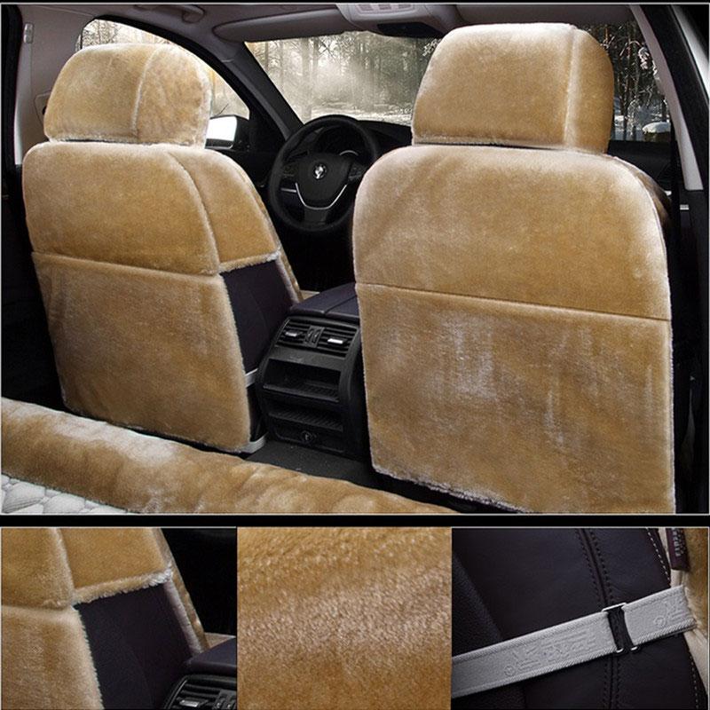 Winter Plush Car Seat Cover Cute Accessories For Mazda Protege Miata M2 M3 M6 Familia B2500 Demio Lantis Mpv Premacy Tribute In Automobiles Covers
