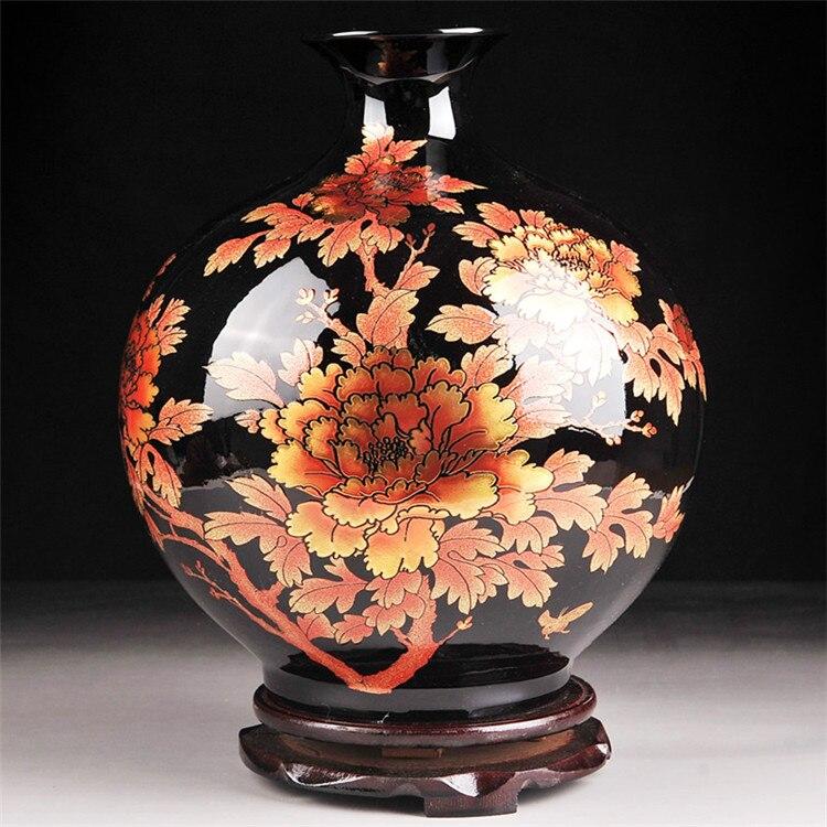 Antique chinois vase en porcelaine achetez des lots - Vases decoration interieure ...