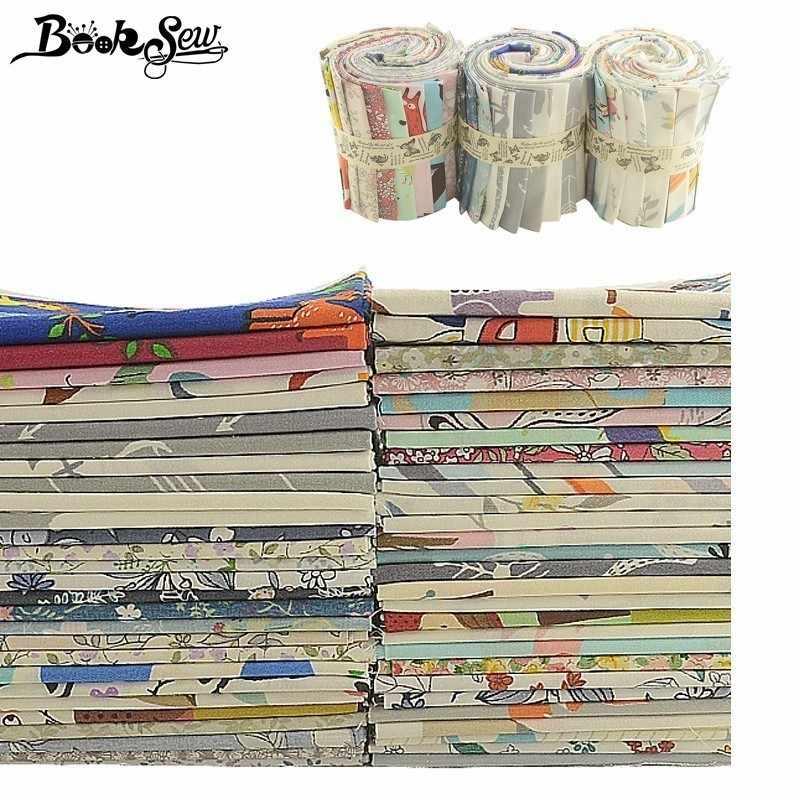 Booksew جديد 100% القطن ورد من الأقمشة الكرتون المطبوعة 32x32 سنتيمتر DIY Tissu لعبة Pollow الخياطة المواد Telas خليط Algodon المنزل