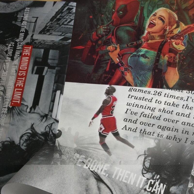Custom Silk Poster Udskriv 13x20 32x48 inches Anime Movie Landscape - Indretning af hjemmet - Foto 3