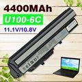 4400 mAh Negro Batería Del Ordenador Portátil para Msi Wind U90 U100 U210 U230 3715A-6317A-MS6837D1 RTL8187SE BTY-S11 BTY-S12 TX2-RTL8187S