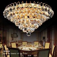Diamant design Kristall Decken Leuchte moderne glanz kristall licht passend hause deco cristal lampe mit Gold/Silber farbe-in Deckenleuchten aus Licht & Beleuchtung bei