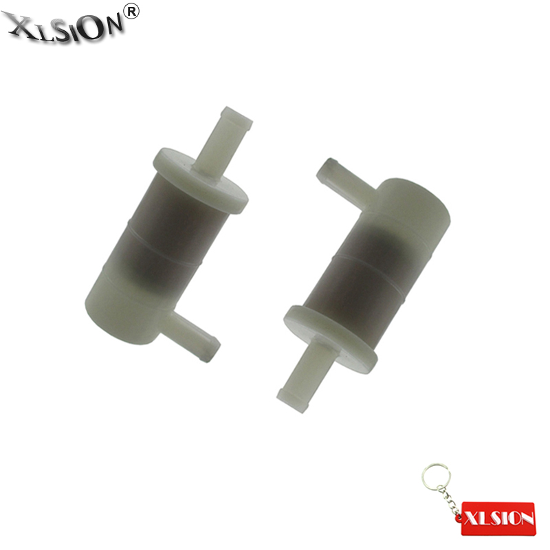 XLSION Aftermarket 2Pcs Fuel Filter For KAWASAKI OEM 49019-1081 2001-2008 Ninja ZX6R ZX7R OEM Gas Filter