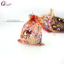 10*12 organza bag 100pcs/lot Christmas wedding gift bag 10 colors selection jewelry packing Display jewelry bag&pouch bag