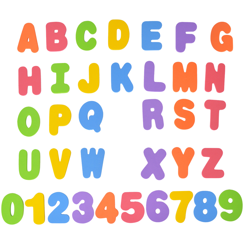 26 letters 10 numbers kids bath tub foam letters numbers children play toys child learning educational toys
