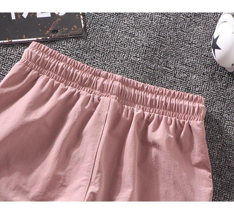 Autumn Streetwear Embroidery Ladies Cargo Pants Women Harajuku BF Loose Big Pocket Hearm Pants High Waist Loose Female Trousers