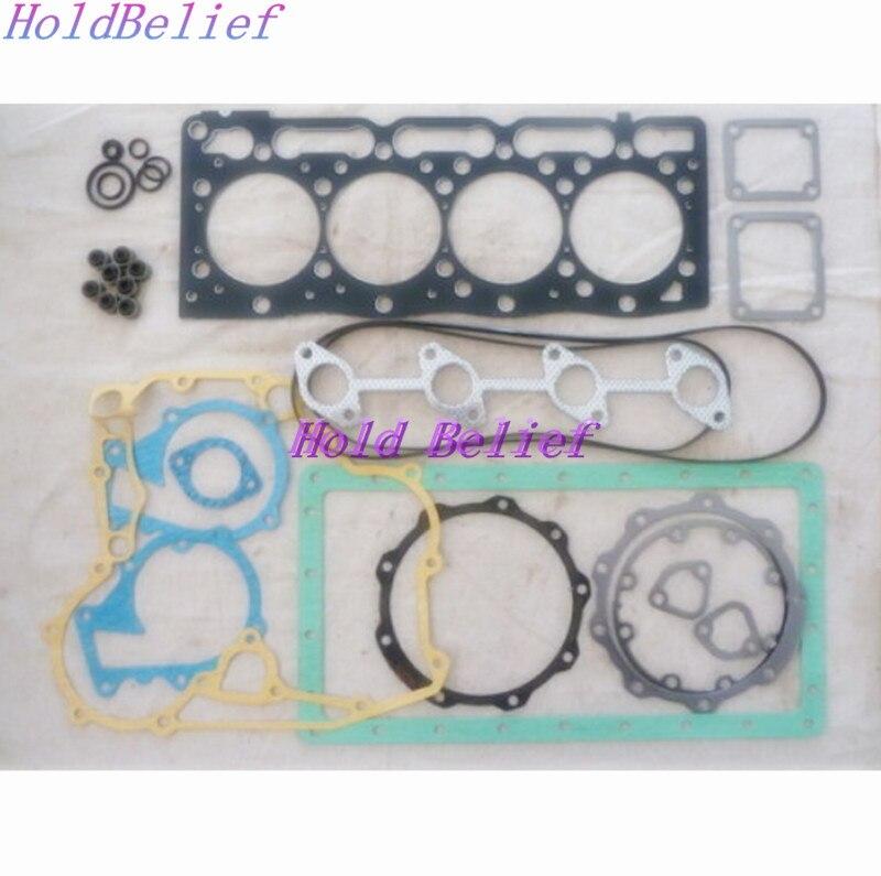 Полный комплект прокладок для Kubota V1505 V1505T с прокладкой головки