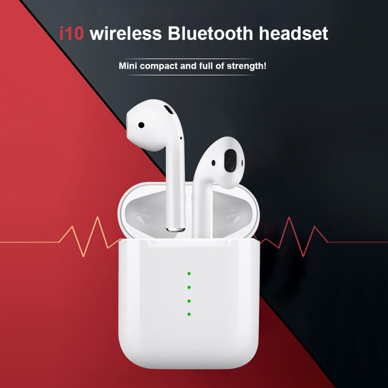 Mini Bluetooth V5.0 Calls Earbuds with Charging Case Wireless Stereo Sports In-ear Earphone with Mic Left and Right Ear