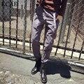 Tallas grandes Para Hombre Overol Pantalones de Los Hombres Mono Tirantes Masculinos Pantalones Rectos Delgados Pantalones Casuales Tamaño M-XL