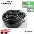 PIVOT- High Temperature Heat Flame Fire Resistant Firesleeve AN8 Black 1/2X1M ID:13MM PT-FHGAN8-FS