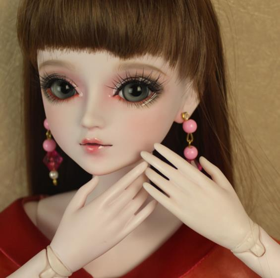 FULL SET Top quality 1/3 bjd girl 60cm pvc doll wig clothes all included night lolita reborn baby doll qina best gift kid toy 1 6 scale bjd lovely kid sweet baby cute nana resin figure doll diy model toys not included clothes shoes wig
