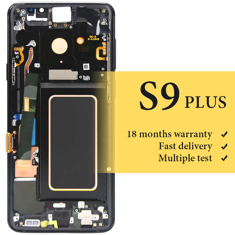 For Samsung Galaxy S9 Plus LCD Display 6 2'' AMOLED G965