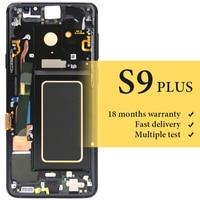 Для samsung S9 плюс G965 ЖК дисплей с рамкой хороший дисплей OEM качества для мобильного телефона G965F замена экрана ЖК экран ФС