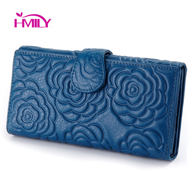 ФОТО New trendy laides card holder twelve card space women wallet first layer genuine leather money bag for ladies vintage rose