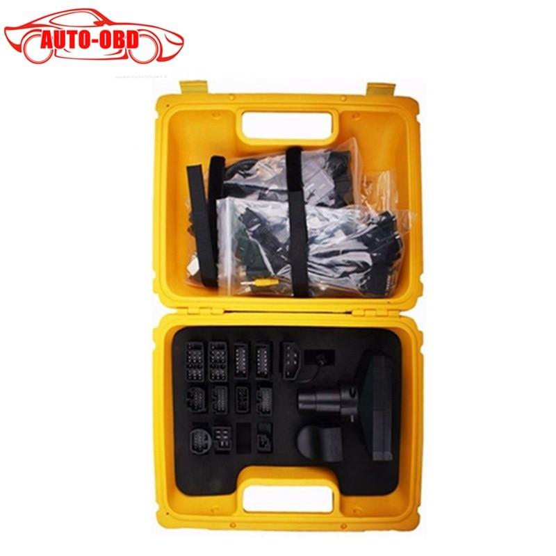 Цена за Высокое качество X431 iDiag Разъем полный набор Вышивка Крестом Пакет X-431 EasyDiag адаптер X431 желтый ящик для BENZ 38 контактный адаптер нет в том числе