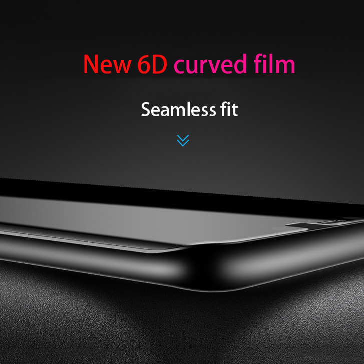6D Surface Tempered Glass For Huawei Mate20 Lite Protective GlassFor  Mate 20 Pro Screen Protector For Mate 20X Mate20 Lite Film
