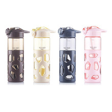 700ml Fashion With Straw Water Bottle Anti-scalding Case Sports Shaker Water Bottles Tea Milk My Drink Bottle Waterbottle
