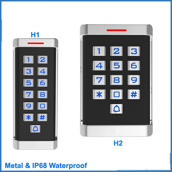 Gate opener door lock Waterproof IP68 Metal Case Access Control RFID ID Keypad Single Door Standalone Access Control Control Card Readers     - title=