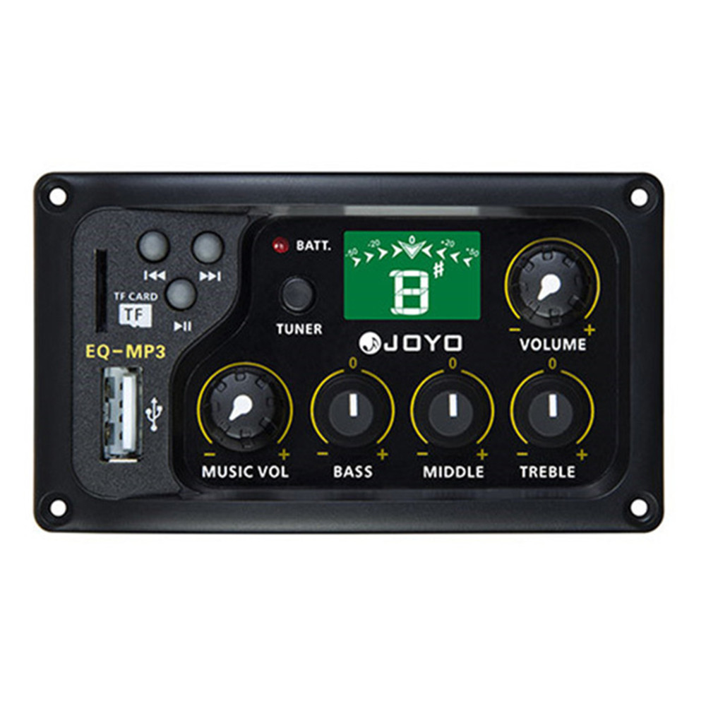 Hot Sale Equalizer LCD Digital 3 Band EQ Pickup Preamp With Tuning Function Toy Musical Instruments Parts Toy Musical InstrumentHot Sale Equalizer LCD Digital 3 Band EQ Pickup Preamp With Tuning Function Toy Musical Instruments Parts Toy Musical Instrument