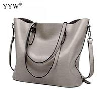 Brand Women Leather Shoulder Bags Bolsas Femininas Handbags Lady Large Tote Bag Sac A Main Brown Black Red Female Pu