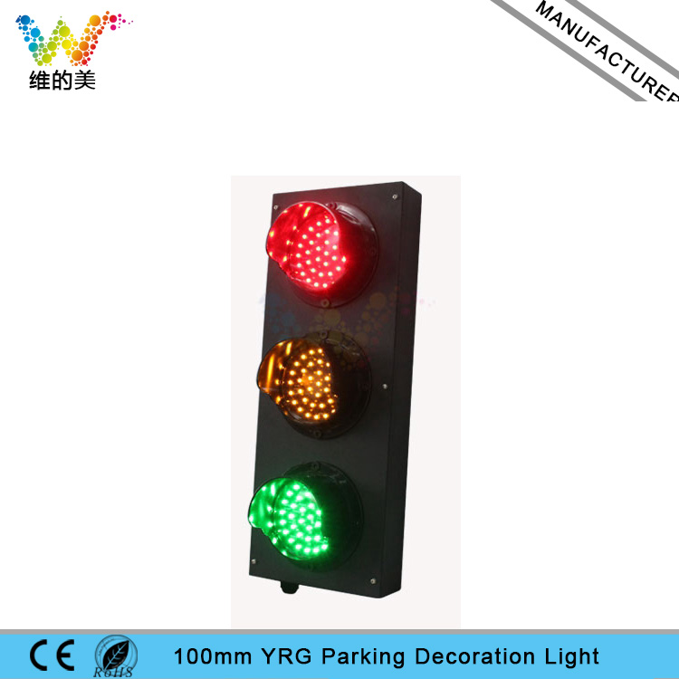 Mini Stainless Steel DC 24V 100mm Red Yellow Green Hotel Parking Hollway Decoration Light