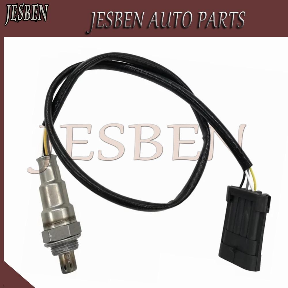 Capteur d'oxygène de capteur Lambda JESBEN convient pour Opel Vauxhall Astra Vectra Calibra Zafira 1.8-2.0L 1995-2002 No #90536393 5WK93202