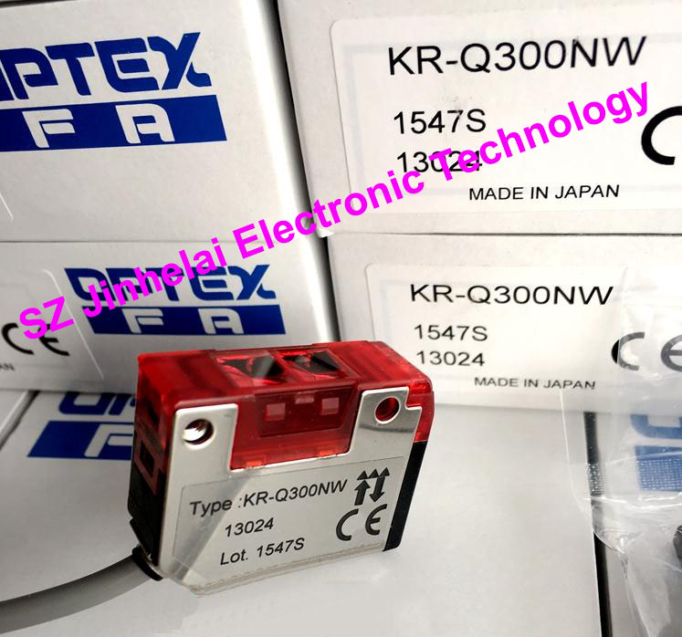New and original KR-Q300NW OPTEX PHOTOELECTRIC SWITCH Photoelectric sensor new and original kr q50n optex photoelectric switch npn output