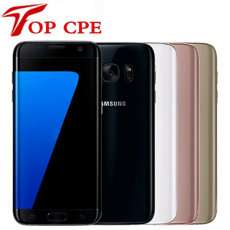 Смартфон Samsung Galaxy S7 Edge G935F & G935V, 5,5 дюйма, 4 + 32 ГБ, Wi-Fi, одна SIM-карта, 12 МП, 1080P, 4G, LTE, 4 ядра