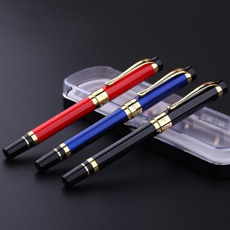 1 Pz di Alta qualità Iraurita Penna Stilografica Pennino 0.5mm Materiale Metallico Ufficio di Scrittura Caneta Cancelleria Forniture Scolastiche HERO 975
