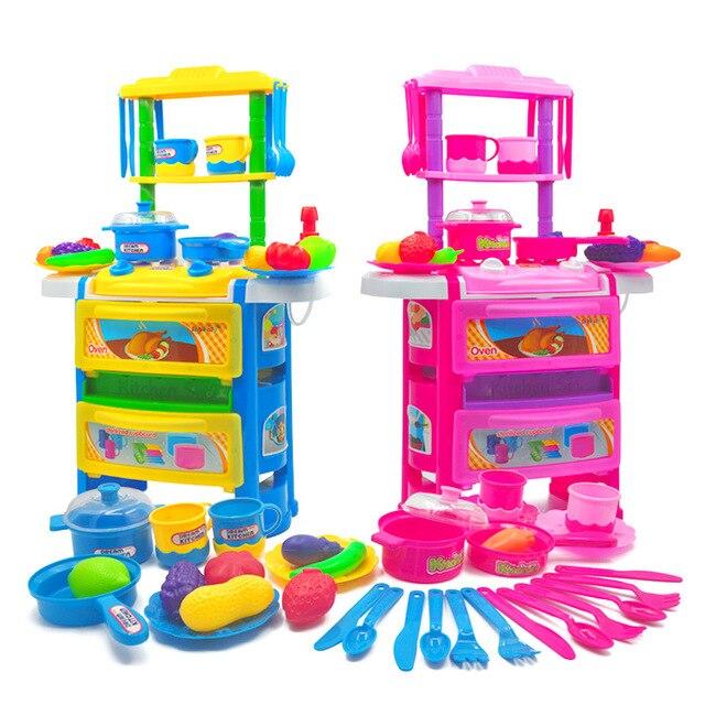 juguetes de cocina para nios de las muchachas del cabrito comida juego de imaginacin cocina juego