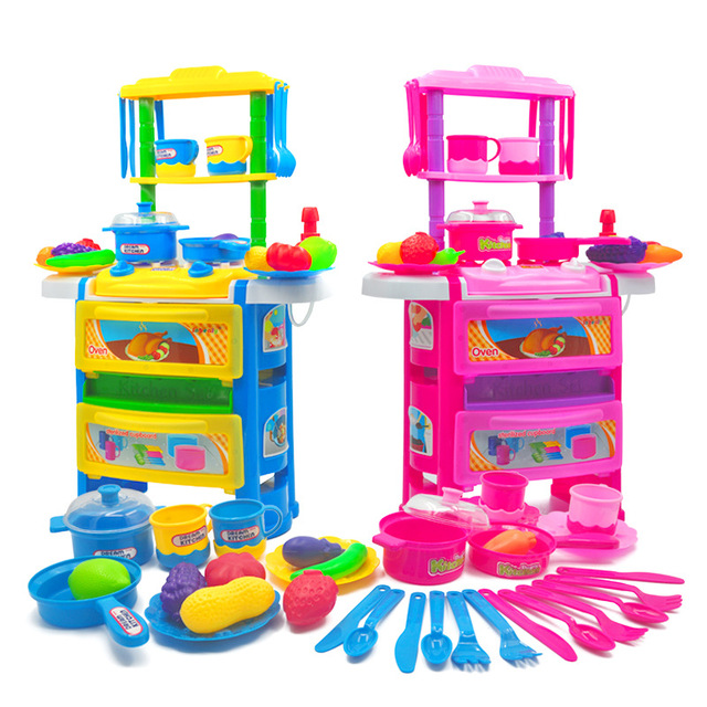 Play Toys For Girls : Kid s kitchen toys for girls pretend play children food