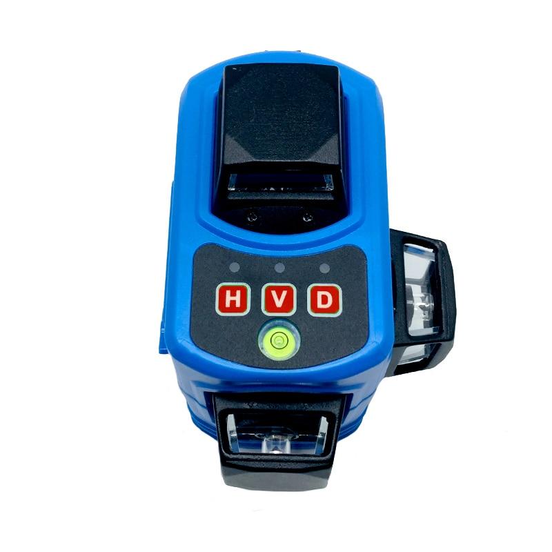 XEAST 12 Linien 3D XE-68 Laser Ebene Selbst Nivellierung 360 Horizontale Und Vertikale Kreuz Super Leistungsstarke Rot Laser Strahl linie