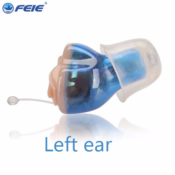 6 channel digital hearing aid Invisible Feie digital hearing aids Headphone Amplifier S-16A Drop Shipping