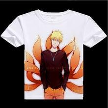 Naruto Tshirt Uzumaki Sasuke Uchiha short sleeve