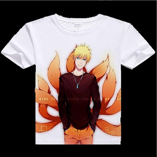 Naruto Digital Printed T-shirt in Various Prints