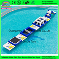 Giant Inflatable Water Toys Game / Harrison Inflatable Outdoor Water Theme Park Manufacturer Water Obstacle